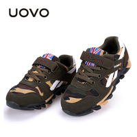 UOVO Camouflage Pattern Children Shoes Spring Autumn Boys Shoes Casual Fashion Sport Shoes For Little Big