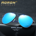 2017 AORON Brand Men Polarized Sunglasses Driving Pilot Sun Glasses oculos de sol Mirror Color Film Eyewear Accessories A310