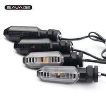 цены LED Turn Signal Indicator Light For HONDA CB500X CB400X CB500F CB400F CBR400R CBR500R 13-18 Motorcycle Accessories Blinker Lamp