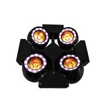 Мини 4 светодио дный головы светодиодный луч Вт 4×40 Вт освещение RGBW 4в1 Quad Луч движущаяся головка освещение для Дискотека ночной клуб Professional Stage & Dj SHEHDS