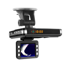 3 in1 DVR 720P TFT 2.0″ LCD Speed Detector Dash Cam G-sensor GPS Night Vision and Radar Detector