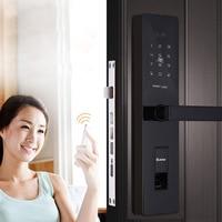 OSPON High End Fingerprint Lock Home Security Door Password Lock Door Smart Card Mobile Phone APP