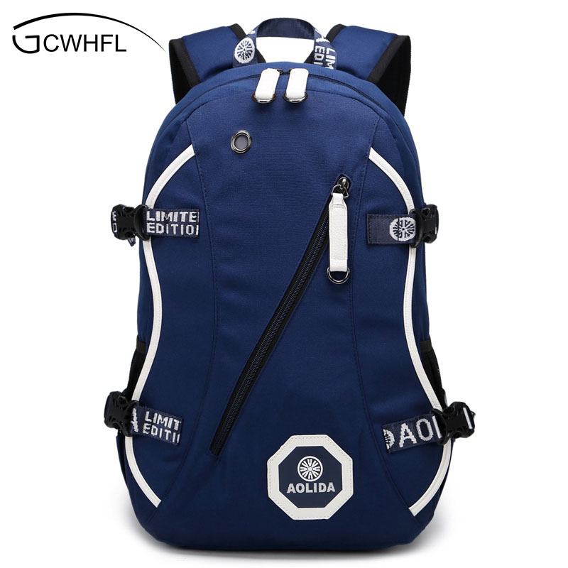 2018 Men Male Oxford Backpack College Student School Backpack Bags for Teenagers Vintage Mochila Laptop Rucksack Travel Daypack цены онлайн