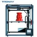 2019 Модернизированный 3d принтер Tronxy X5SA датчик накаливания большой плюс размер 330*330 мм Горячая кровать полностью металлический TFT сенсорный э...