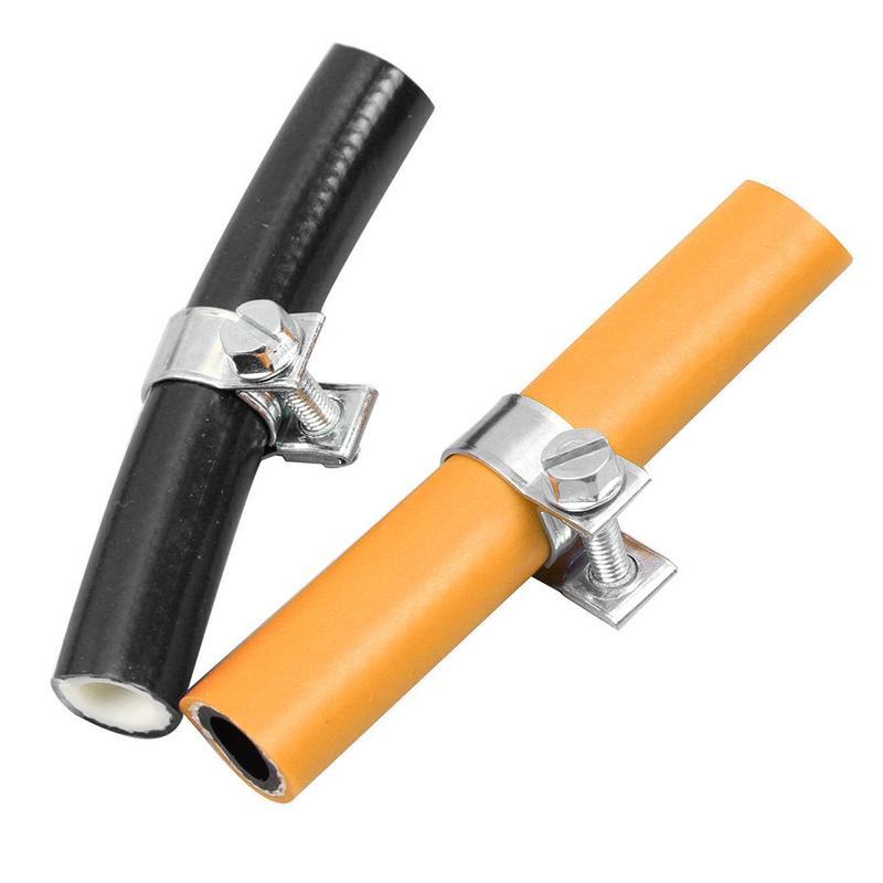 135 Pz Professionale Mini-tipo Di Più Specifiche Zincato Tubo Assortimento 8-18mm Cacciavite Tubo Fisso Tubo Morsetti Circolazione Del Sangue Tonificante E Arresto Del Dolore