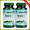 100% Natural Anti-Fadiga Melhorar-Imune Spirulina Orgânica Comprimido Chlorella produto Suplemento Dietético Saúde Impulso de Energia