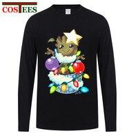 T shirt a Manica lunga guardiani della Galassia del bambino groot maglietta Anime hiphop Buon Natale Groot T-Shirt Divertente Hipster Xmas Tee