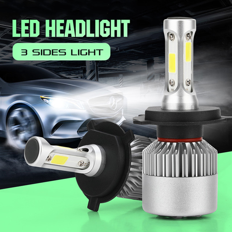 1 Pair H4 H7 H11 H1 H3 9005/HB3 9006/HB4 <font><b>Led</b></font> Car Headlight H8 H9 H27 880/880/H27 9004/HB1 9007/HB5 Auto Bulb Headlamp 6500K
