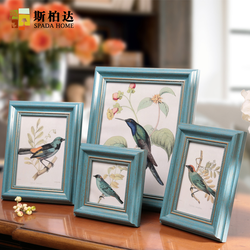 4567 inch Photo Frames Green Coffe White Picture Frames