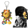 New Arrive Baby Infant Lion Activity Spiral Bed Pram Hanging Educational Plush Toys Gifts