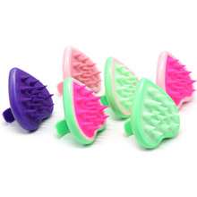1Pcs Pet Bath Massage Brush Pet Fur Hair Remover Dog Comb Dog Grooming Tools Hot Sale Silica Hairball Pet Supplies Color Random