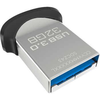 SanDisk USB 3.0 Flash Drive 128GB 64GB 32GB Memory Stick Pen Drives Pendrive Flashdisk 130MB/s Ultra Fit Mini Nano U Disk for PC