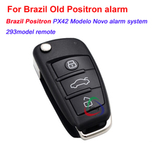 3buttons universal remote key for old Positron alarm, brazil positron FX292, CYBER 292 R2,PX42,PX32 car alarm system