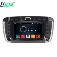 LJDA Car DVD Player 1din 6 2inch Touch Screen Wince 6 0 Systerm For Fiat 500