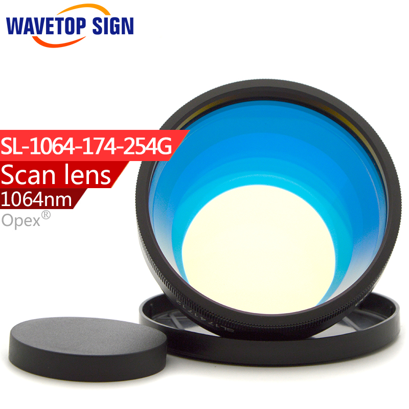 1064nm focus lens 175mmX175mm SL-1064-174-254 use for fiber laser mark machine yag laser using focus lens 254mm laser welding cutting engraving machine laser protection lens 1064nm yag 39 1 5