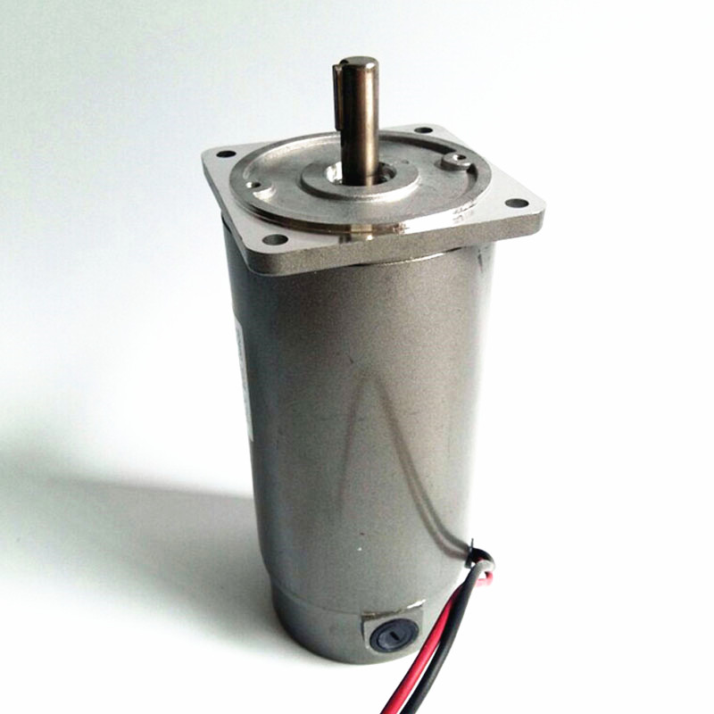 500W miniature permanent magnet DC motor,12V 24V 220V 1800rpm Round shaft type optical axis motor,J18184-in DC Motor from Home Improvement    1