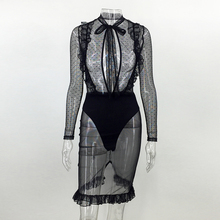 Women's Good Wifey Sheer Mesh Dress