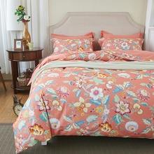 Svetanya girasol Imprimir Juegos de Cama 100% de Cama de Algodón de Lijado Ropa de cama de Tamaño Doble Reina Rey de Europa