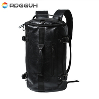 New 2017 Fashion Casual Brand Leather Kanken Backpack Men Cool Multifunctional Laptop Backpacks Large Capacity Backpack