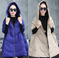 Mujeres abajo cubren larga de maternidad ropa embarazadas abrigos chaquetas de invierno manteau femme enceinte prendas de vestir exteriores vetements grossesse