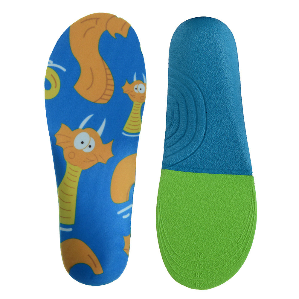 Self-Conscious Children Kids Orthopedics Insoles Orthotic Flat Foot Arch Support Insoles Orthopedic Shoes Pad Inserts Shoe Cushion Accessories Insoles Shoes