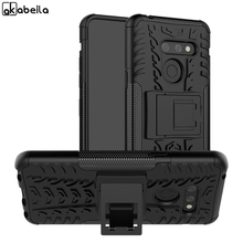 6.1 For LG G8 ThinQ Case Shockproof Armor Rubber Silicone Hard PC Phone Back Cover Fit G8S Fundas On LGG8