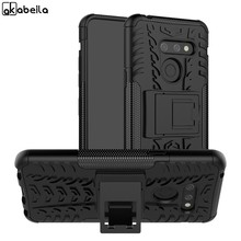 "6.1 ""Voor LG G8 ThinQ Case Shockproof Armor Rubber Silicone Hard PC Telefoon Case Voor LG G8 Back Cover fit G8S ThinQ Fundas Op LGG8(China)"