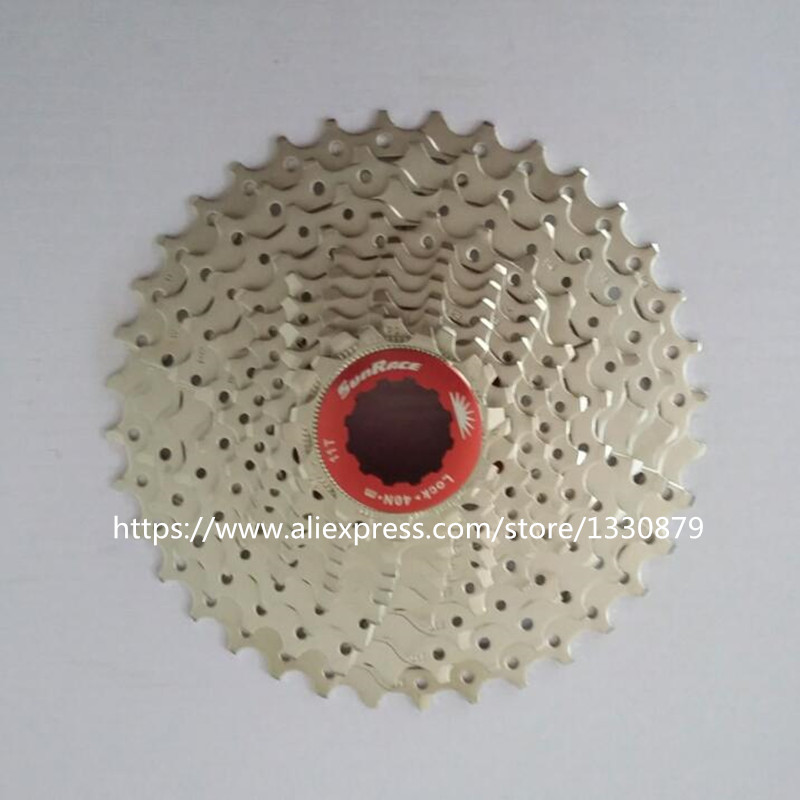 Sunrace Road Bike Cassette Bicycle Freewheel 11Speed Bicycle flywheel Cycling Freewheel 11-28/32/36T road bike chain ring bicycle flywheel cassette tool parts 11speed 105 ultegra dura ace for 1x and 2x drivetrain systems