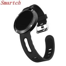 Smartch Smart Band DM58 сердечного ритма крови Давление браслет Сидячий напоминание фитнес-трекер спортивные часы smartband для iOS и