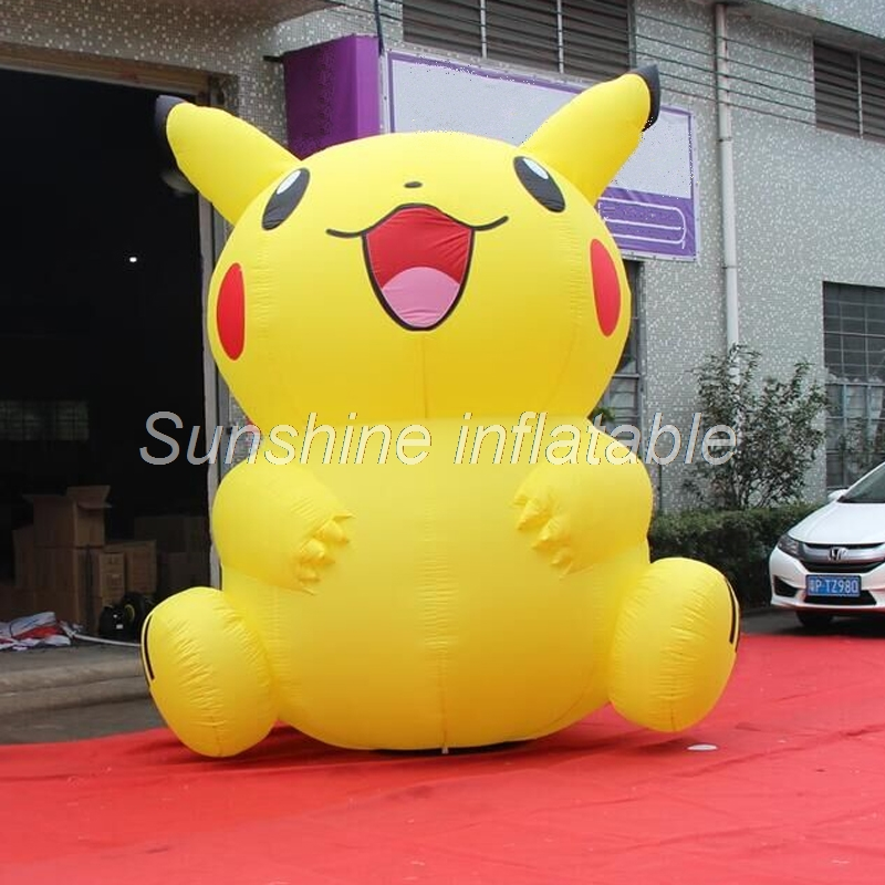 2018-hot-selling-advertising-cartoon-cute-giant-inflatable-pikachu-inflatable-font-b-pokemon-b-font-for-event-decoration