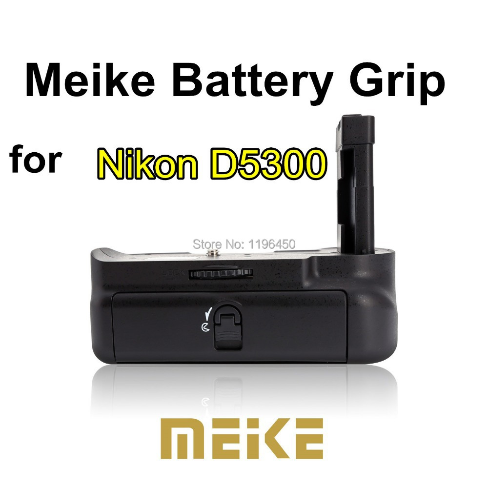 MEKE Meike MK-D5300 Multi-Power Battery Grip Pack for Nikon D5300 Vertical-grip Holder f ...