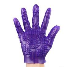 Magic Palm Hand Masturbator Sex Glove Female Masturbation Breast Nipple Vagina Massage Couple Adult Games Toy