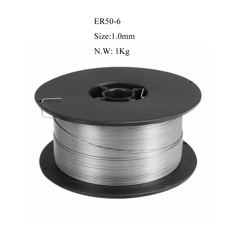 Free Shipping ER50 6 304 Stainless Steel Welding Wire 1 0mm 1000g Solid Cored MIG Welder Tools for All Equipment in Welding Wires from Tools