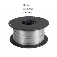 Free Shipping ER50-6 304 Stainless Steel Welding Wire 1.0mm 1000g Solid-Cored MIG Welder Tools for All Equipment