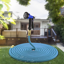Оригинальный 25-100FT удлиняемый садовый шланг волшебный гибкий шланг для воды шланг пластиковые шланги трубы распылитель для полива садовые инструменты