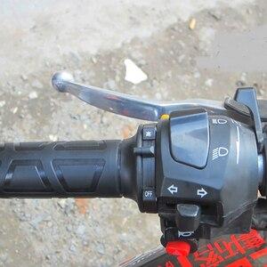 Image 3 - جديد عالمي دراجة نارية 22 مللي متر اليد الكهربائية قبضة ساخنة قبضة مصبوب ATV تدفئة ضبط درجة الحرارة المقود الساخن