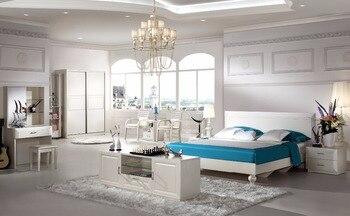 Slaapkamer Meubels Set : Barok meubelen muebles madera top mode moderne slaapkamer set