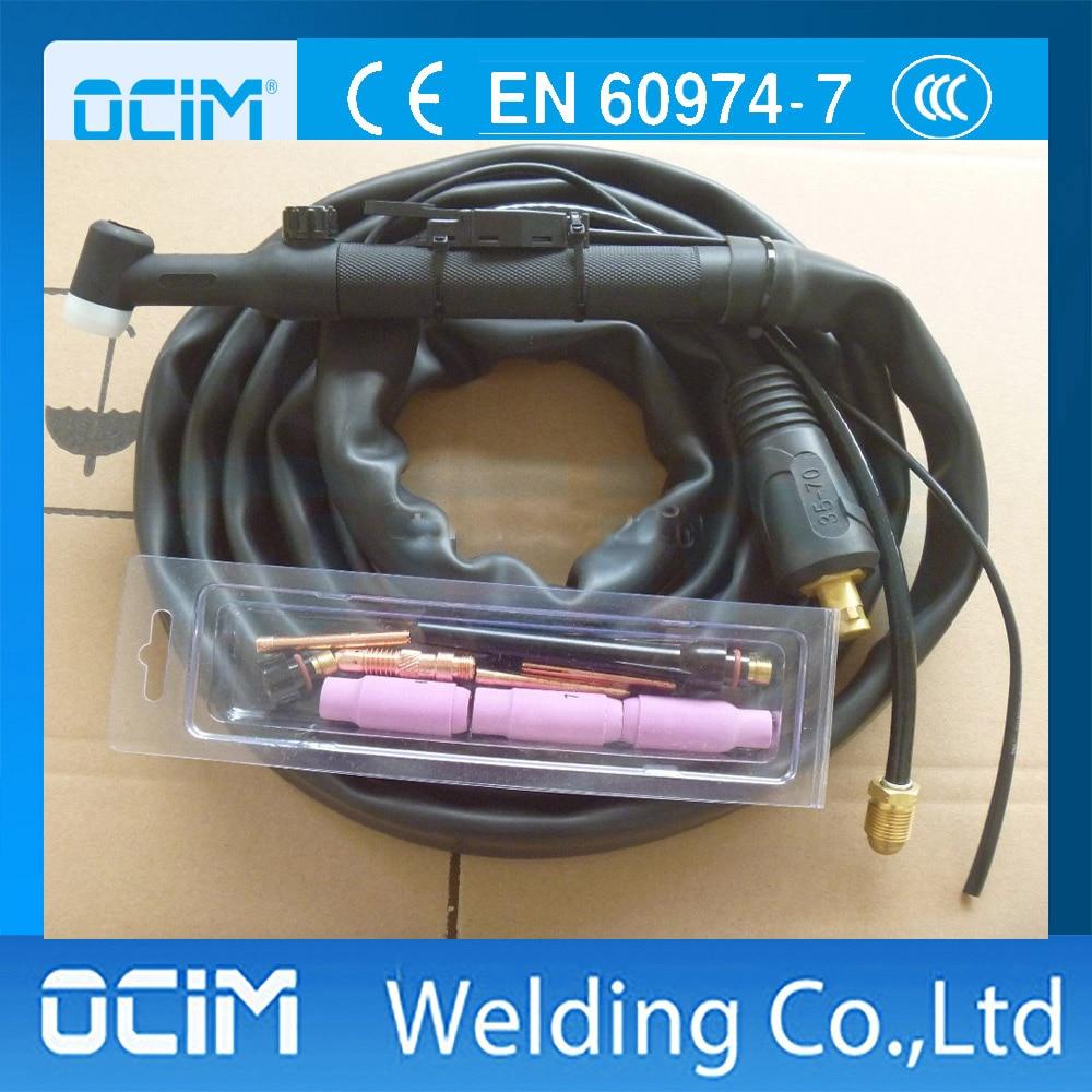 Motiviert Wp-26v Wp26v 4 Mt 250amp Luftgekühlten Wig-schweißen Taschenlampe Gasventil Ein Bereicherung Und Ein NäHrstoff FüR Die Leber Und Die Niere Werkzeuge