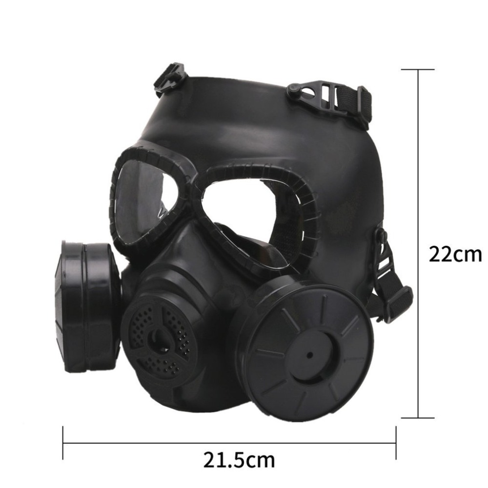 Creative Hot Gas Mask Breathing Mask Creative Stage Performance Prop For Cs Field Equipment Cosplay Protection Halloween Evil Back To Search Resultssecurity & Protection