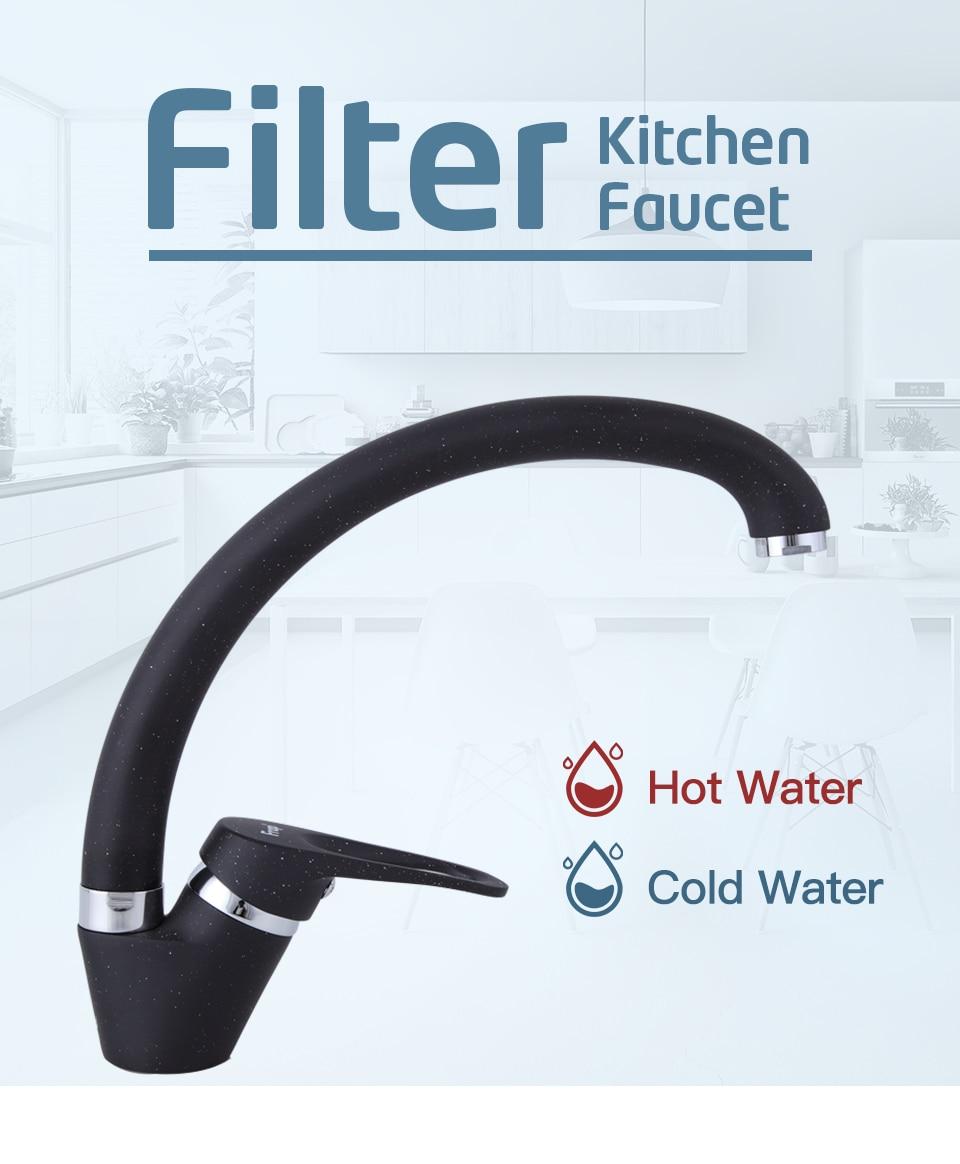 HTB1NUmsOHrpK1RjSZTEq6AWAVXau FRAP Brass 5 color Kitchen sink faucet Mixer Cold And Hot Single Handle Swivel Spout Kitchen Water Sink Mixer Tap Faucets F4113