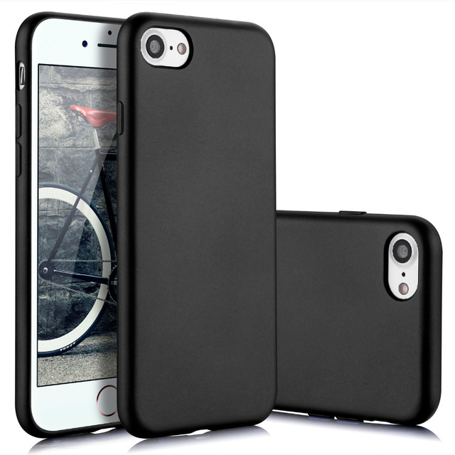 MYRIANN Silky Feel Phone Case for iPhone 7/7 plus TPU Protection Cover coque 7 plus