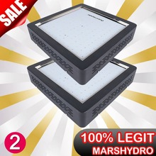 Upgraded 2PCS Marshydro Mars II 900 LED Grow Light Full Spectrum For Flowering / Growth Indoor plants growing led lamp
