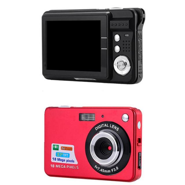 "2.7"" TFT LCD Display Digital Cameras 18MP 720P Anti-Shake Camcorder Video CMOS Sensor Micro Camera Mini Cam New Hot US plug"