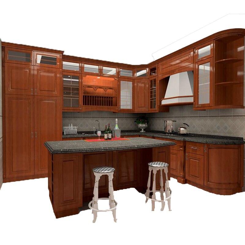 Designer Sale On Kitchen Cabinets: Best Sale Simple Design Style Solid Teak Kitchen Cabinets