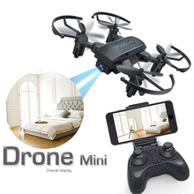 2019 Newest Mini Foldable RC Drone 480P 720P Remote Control Helicopter