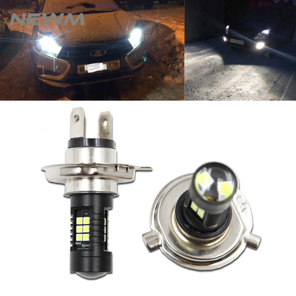 Opel Vivaro 100w Super White Xenon HID High//Low//LED Side Headlight Bulbs Set