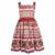 W. l. monsoon vestido de princesa vestido infantil 2017 muchachas del verano niños del vestido de partido 'corretto estafa 'rose vestidos niños ropa