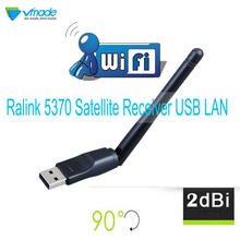 Vmade беспроводной Mini-USB Wi-Fi Ralink 5370 150 Мбит/с 2dBi Вай-Фай адаптер для DVB-T2 и DVB-S2 ТВ-приемник с wifi антенна сеть LAN Карта