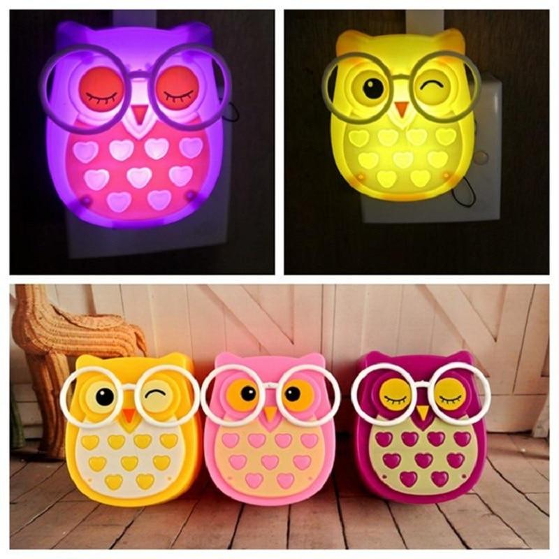 Mabor Luminaria Dreams Owl Night Light LED Darkness Automatic Plug - Night Lights
