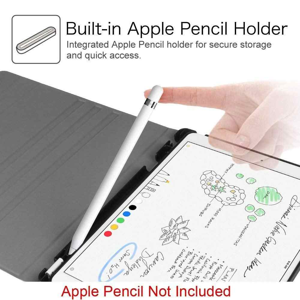 Ispanyolca Klavye iPad kılıfı 6th 9.7 2018 Kılıf Bluetooth Klavye W kalemlik Standı Kapak Için iPad Hava 1/2 Pro 9.7 Kılıf
